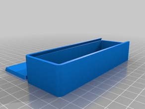 Parametric Box with Sliding Lid
