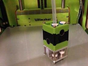 UM2 printhead for UMO+, top and bottom part
