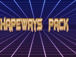 Shapeways   Pack 1