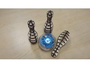 Sphero scale bowling pin