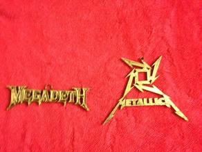 heavy metal ornaments