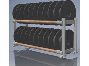Double Decker Filament Rack