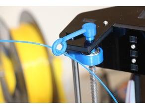 Anet A8 filament guide rod end remix