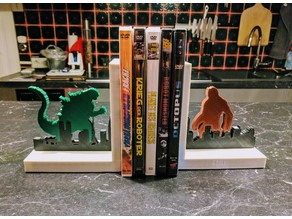 Movie Monster Silhouette DVD Stand / Bookstand