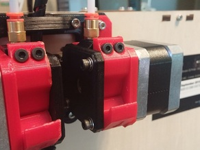 3Dator Bowden Extruder- With Replicator/FlashForge/CTC Dual Extruder Bracket