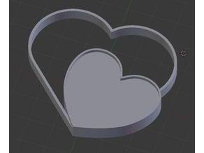 Key Bunch- Two Heart design