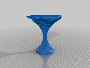 My Customized Polygon Vase - Hexagonal Martini glass 2