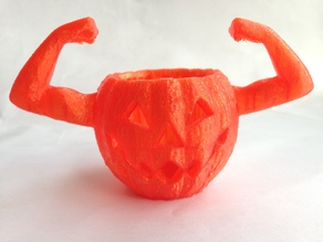 Beefy Armed Pumpkin