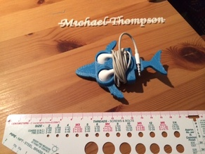 Whale iphone Earbud
