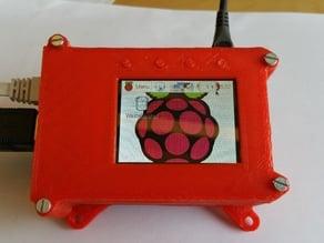 """PiTFT 2.2"""" displaytop"""