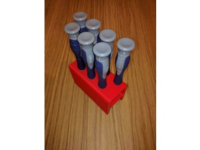 7 Hole Screwdriver Stand