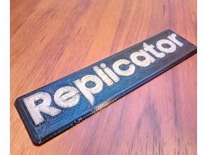 Makerbot Replicator Logo
