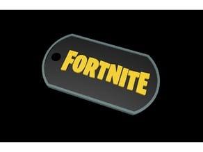 Fortnite DogTag - Keychain