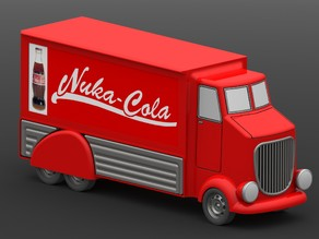 Fallout Nuka Cola Truck