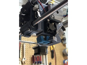 Hypercube Titan Extruder with Modified Part Cooling and BL Touch