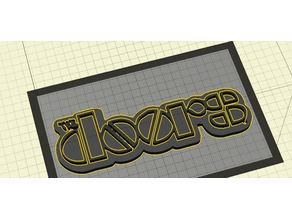 The Doors (Band) Keychain Item