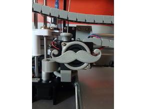 Anet A8 Fan cover mustache V2
