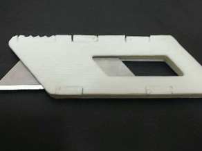 Yet Another Utility Blade Holder (YAUBH)