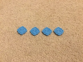 Keyforge Power Tokens V3 (Inset Design, 18 mm)