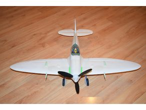 """GWS Spitfire Parts: 3-blade Spinner 44mm 1-3/4"""""""