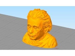 Low Poly Albert Einstein