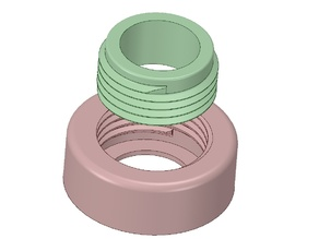 Garden Hose Thread Profile - GHT (0.75-11.5 NHR) Female and Male