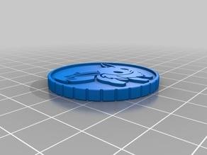 Pokemon EEVEE Vaporeon Coin Token