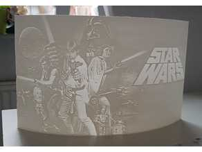 Star Wars Picture Litho