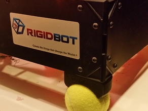 Tennis ball dampener. For the Rigidbot