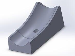 Foot for IKEA Sebastian bar stool