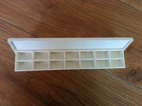 Customizable Pill Box