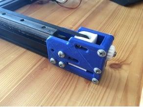 Anet A2 and TEVO Tarantula MGN15 linear rail Y axis mod