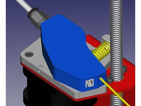 Extruder feeder with alternative runout (no motor reverse required)