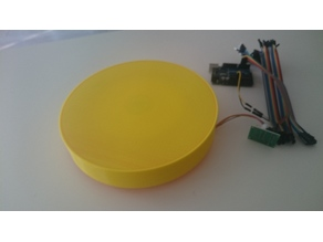 Rotating Table with 24BYJ-48 Stepper and 608 Bearings