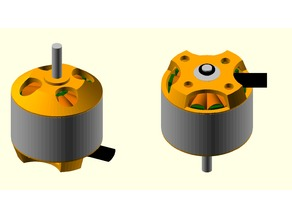 Brushless motor 1000KV model