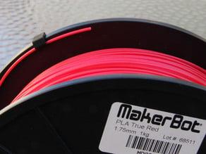 Filament Clip for Makerbot Spools