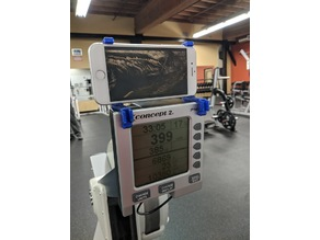 Portable Concept 2 Rowing Machine Smartphone Cradle