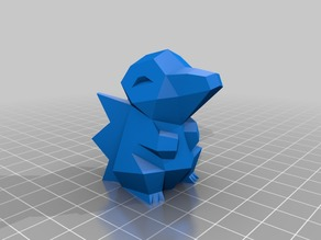 Low Poly Cindaquil