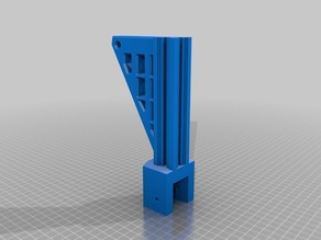 K8200 frame extension with spool holder