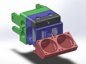 Dual Bowden E3D Extruder - printrbot plus v2