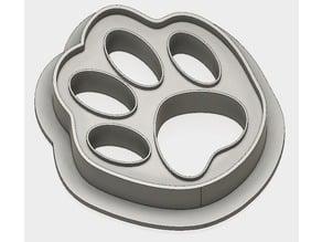Cat Paw Cookie Cutter