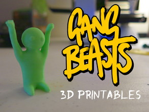 Gang Beasts 3d printables