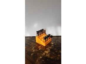 AA Battery rack