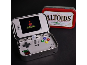 mintyPi v3, Gaming Handheld in an Altoids Tin