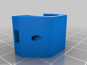 Prusa MK3 LM8UU Y Axis Bearing Holder Pillow Block with Nut Trap