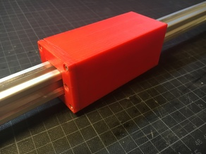 Adjustable 2020 PTFE Slider