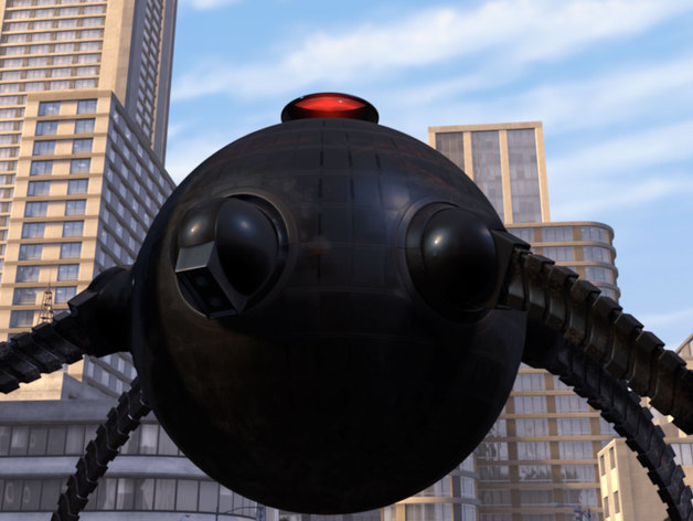 Omidroid from Disney Pixar's The Incredibles by ...
