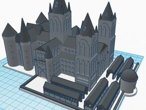 Hogwarts School of Witchcraft and Wizardry (Castle Part 2 of 3) - Harry Potter 3D Print