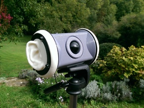 'HeadLight' 3d binaural microphone