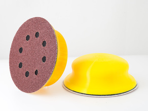 Sandpaper Disk Holder